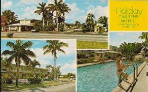 Pompano Beach FL, Motel Swimming Pool, Beautiful Woman Swimsuit, Roadside, 1982