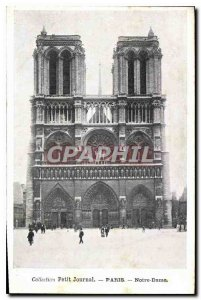Postcard Collection Old Diary Paris Notre Dame