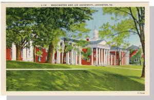 Lexington,Virginia/VA Postcard, Washington/Lee Univ,Nr Mint!