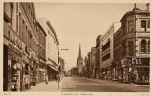 PRESTON , UK , 1910s ; Fishergate ; TUCK