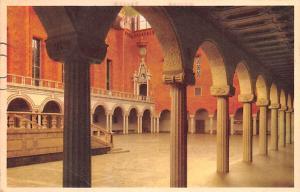 Sweden Old Vintage Antique Post Card City Hall Stockholm 1915