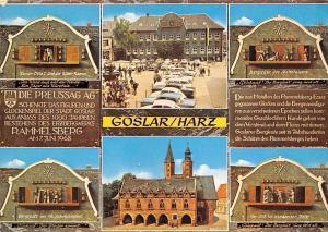 Goslar Harz Das Glockenspiel am Marktplatz, Town Hall Clock