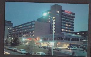View Of Citadel Inn At Night, Halifax, NS - Unused