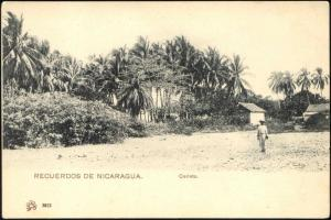nicaragua, CORINTO, Partial View with Houses (1899)