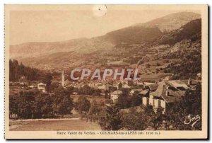 Old Postcard Colmars the Alps