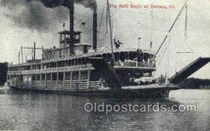 Bald Eagle Ferry Boats, Ferries, Steamboat, Ship Havana, Illinois, USA 1910 l...