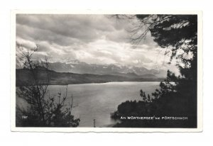 Austria RPPC Worthersee Portschach Freig d RLM Franz Schilcher Photo Postcard
