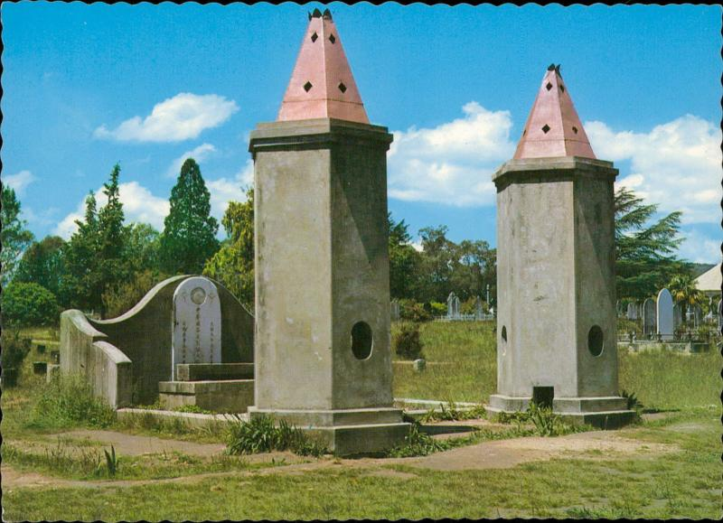 Beechworth Victoria Chinese ceremonial burning towers Cemetery Australia