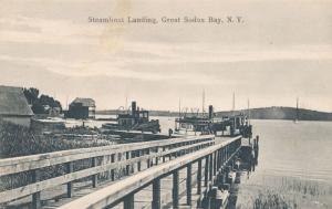 Steamboat at Steamboat Landing on Great Sodus Bay NY, New York - DB