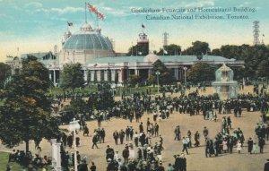 TORONTO , Ontario , 1900-10s ; Gooderham Fountain & Horticultural Building, CNE