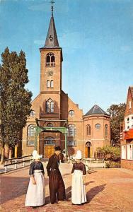 Netherlands Volendam Eglise Church Front view Kirche