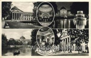 Wiesbaden Germany, Deutschland Postcard Wadelhalle, Grfiner Salon  Wadelhalle...