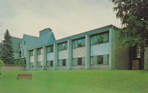 Exterior View from Courtyard, Ontario Odd Fellows' Home, Barrie, Ontario, Can...