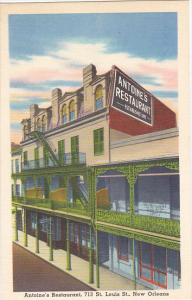 Antoine's Restaurant New Orleans Louisiana Oldest French Restaurant In New Or...