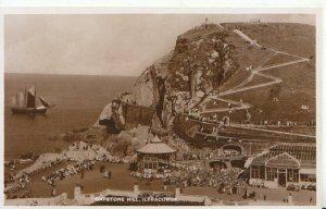 Devon Postcard - Capstone Hill - Ilfracombe - Real Photograph - Ref 9825A