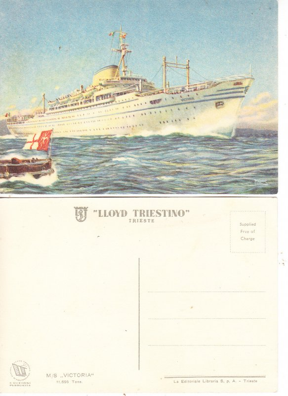 M/S Victoria - Lloyd Triestino - Trieste