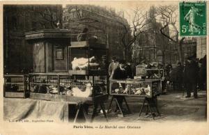 CPA AK PARIS Vecu. Le Marche aux Oiseaux (575062)