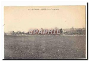 Soppe le Bas Old Postcard General view