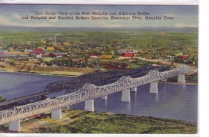 Bridges Across the Mississippi River at Memphis, Tennessee !