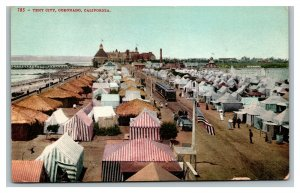 c1910 Tent City Coronado California Postcard pc2416