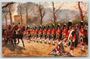 Harry Payne~Military London~Tipping Colours to Royalty~Gordan Highlanders~TUCK