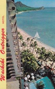 WAIKIKI Outrigger Hotel , Hawaii , 1950-60s