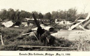 MI - Coldwater. May 15,1986, Tornado Damage