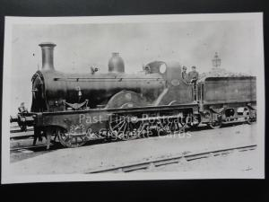 NBR Steam Loco No.393 Driver & Crew North British Railway NBR - RP Photocard