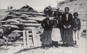 RP: Navajo Indian Family , 1930-50s