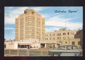 ARDMORE PENNSYLVANIA SUBURBAN SQUARE 1950's CARS VINTAGE