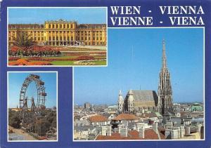 Wien Schloss Schoenbrunn Riesenrad, Stephansdom Cathedral, Castle Big Wheel