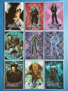 Official MARVEL Set of 9 X-Men The Movie Postcards 30Z