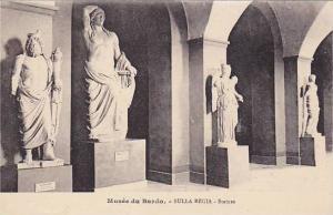 Interior, Statues, Bulla Regia, Musee Du Bardo, Tunisia, Africa, 1900-1910s