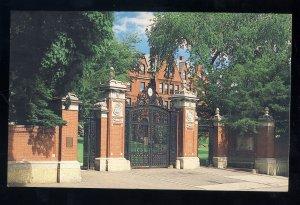 Providence, Rhode Island/RI Postcard, Van Wickle Gates, Brown University