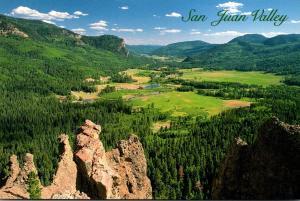 Colorado San Juan Valley Near Wolf Creek Pass
