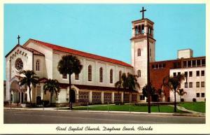 Florida Daytona Beach First Baptist Church