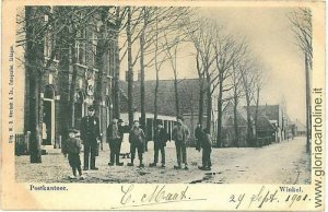 05571 VINTAGE POSTCARD: HOLAND NETHERLANDS - WINKEL 1901