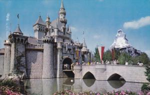 Sleeping Beauty's Enchanted Castle, Entrance to Fantasyland, Disneyland Matte...