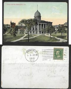 1910 Springfield IL, Court House