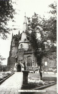 Lancashire Postcard - The Parish Church, Ormskirk - Real Photograph - Ref 13042A