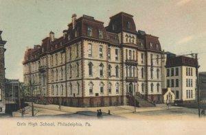 PHILADELPHIA, Pennsylvania, 1900-1910s; Girls High School, version 2