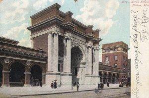 BOSTON, Massachusetts, 1901-1907; North Station