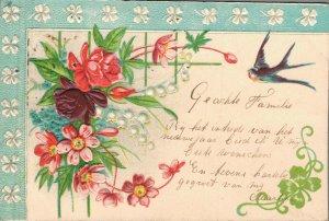 Theme Happy Birthday Flowers Animals & more Postcard Lot of 10 01.07