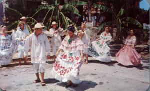Tamborito Dance performed by Conjunto Cajar, Panama