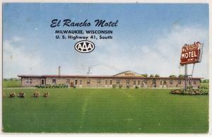 El Rancho Motel, Milwaukee WI