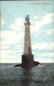 The Bishop Lighthouse UK c1910 Postcard