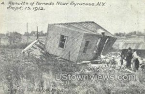 Tornado Sept 15th 1912 - Syracuse, New York