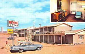 Snyder Monument Valley Navajo RT 1 Weaherill Inn Old Cars, Postcard