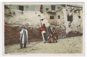Native American Pueblo Indians Acoma New Mexico 1910c postcard