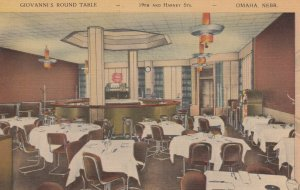 OMAHA , Nebraska , 1930-40s ; Giovanni's Round Table